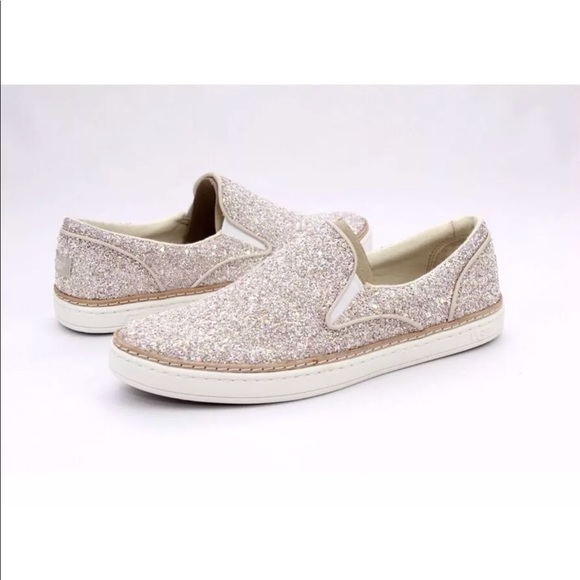 dc09f61a542 UGG ADLEY CHUNKY GLITTER COLOR SLIP-ON SNEAKERS NWT